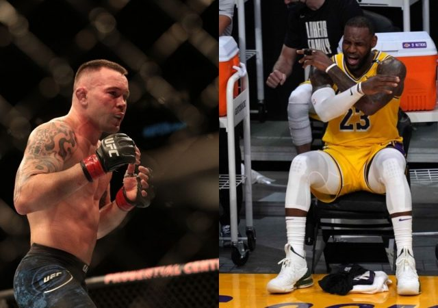 """""""LeBron James is a Chinese puppet master for employing women in sweatshops"""":Colby Covington goes after the Lakers MVP by doubling down following 'spineless coward' comments"""