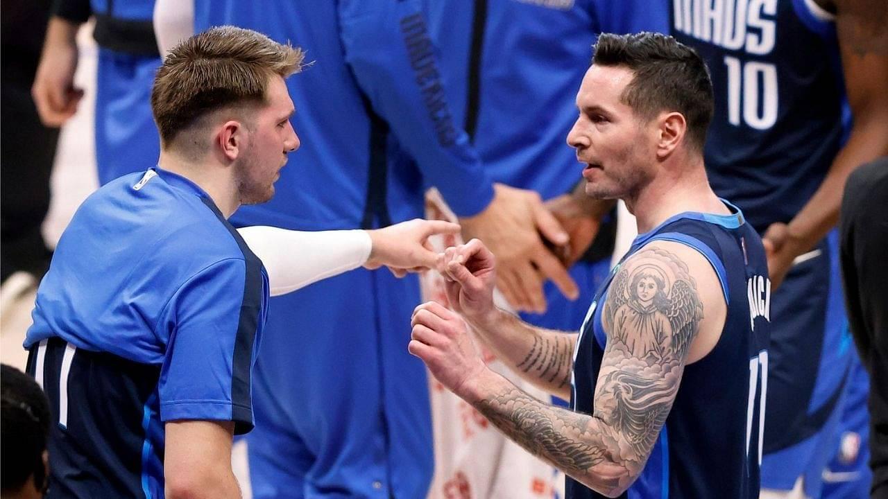 """Luka Doncic, you still owe me $1700 from cards!"": JJ Redick hilariously mocks Mavericks' superstar after news of his $207 million supermax extension got out"