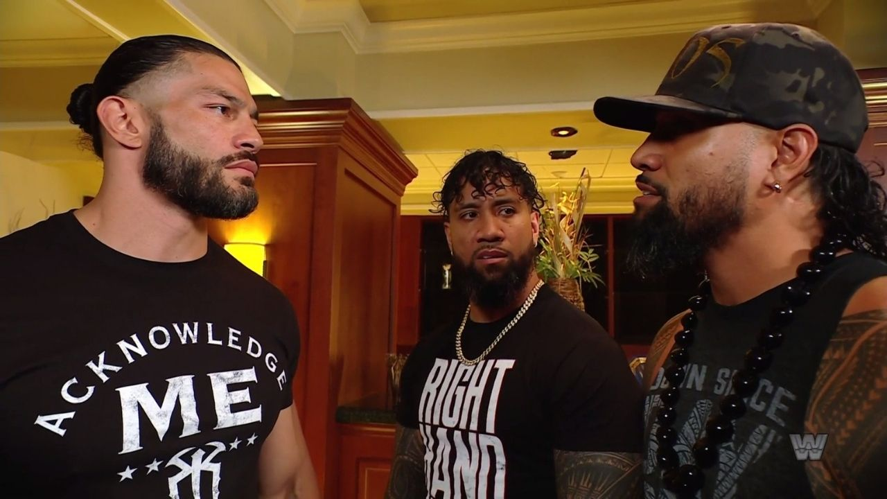 Roman Reigns opens up on the DUI arrest of Jimmy Uso
