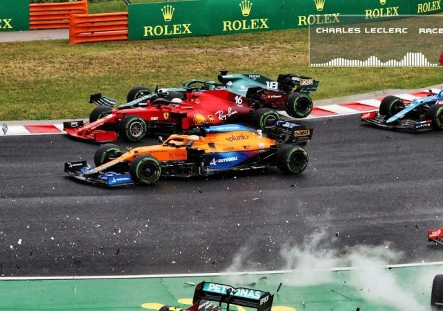 """""""It was quite unrealistic for him to try anything there""""– Charles Leclerc on Lance Stroll sandwiching him in turn 1 accident"""