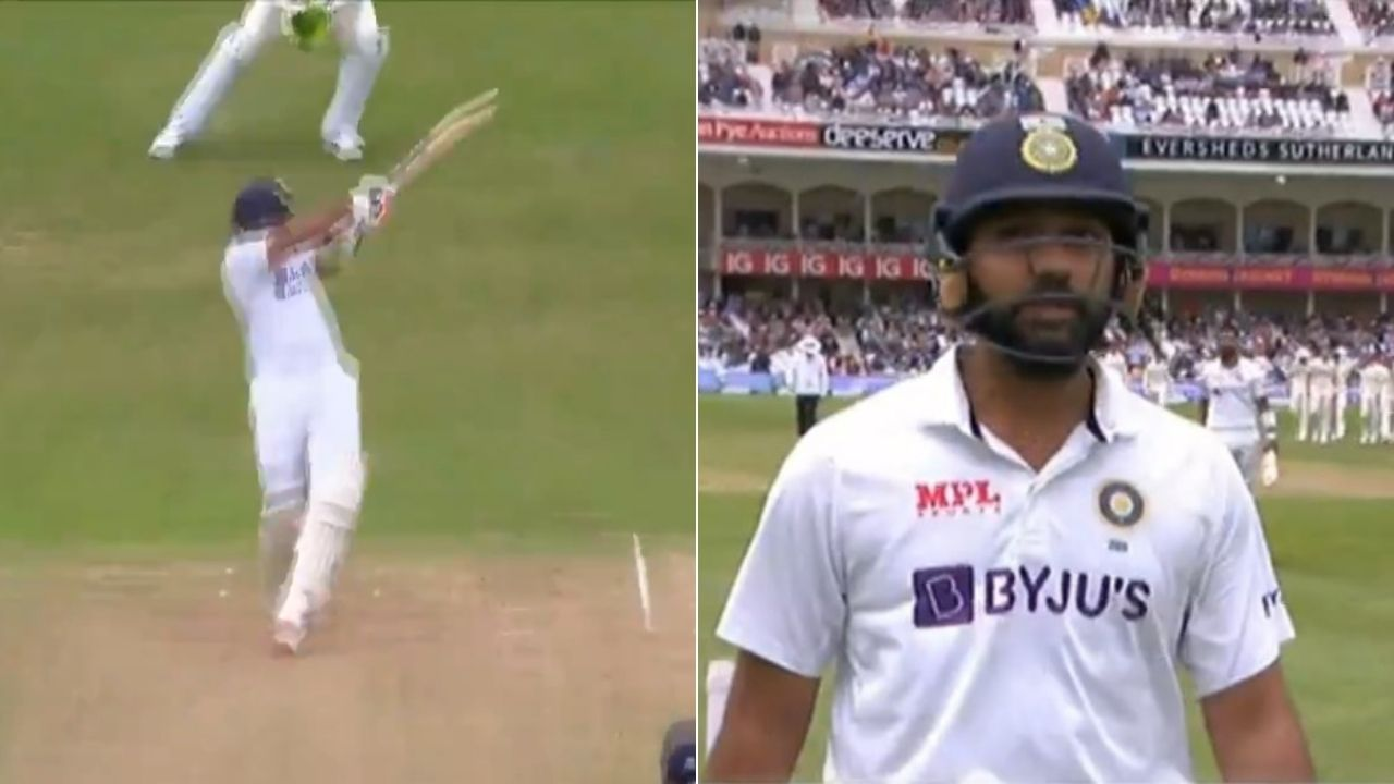 Rohit Sharma out today before lunch vs England: Rohit Sharma last 10 Test innings score