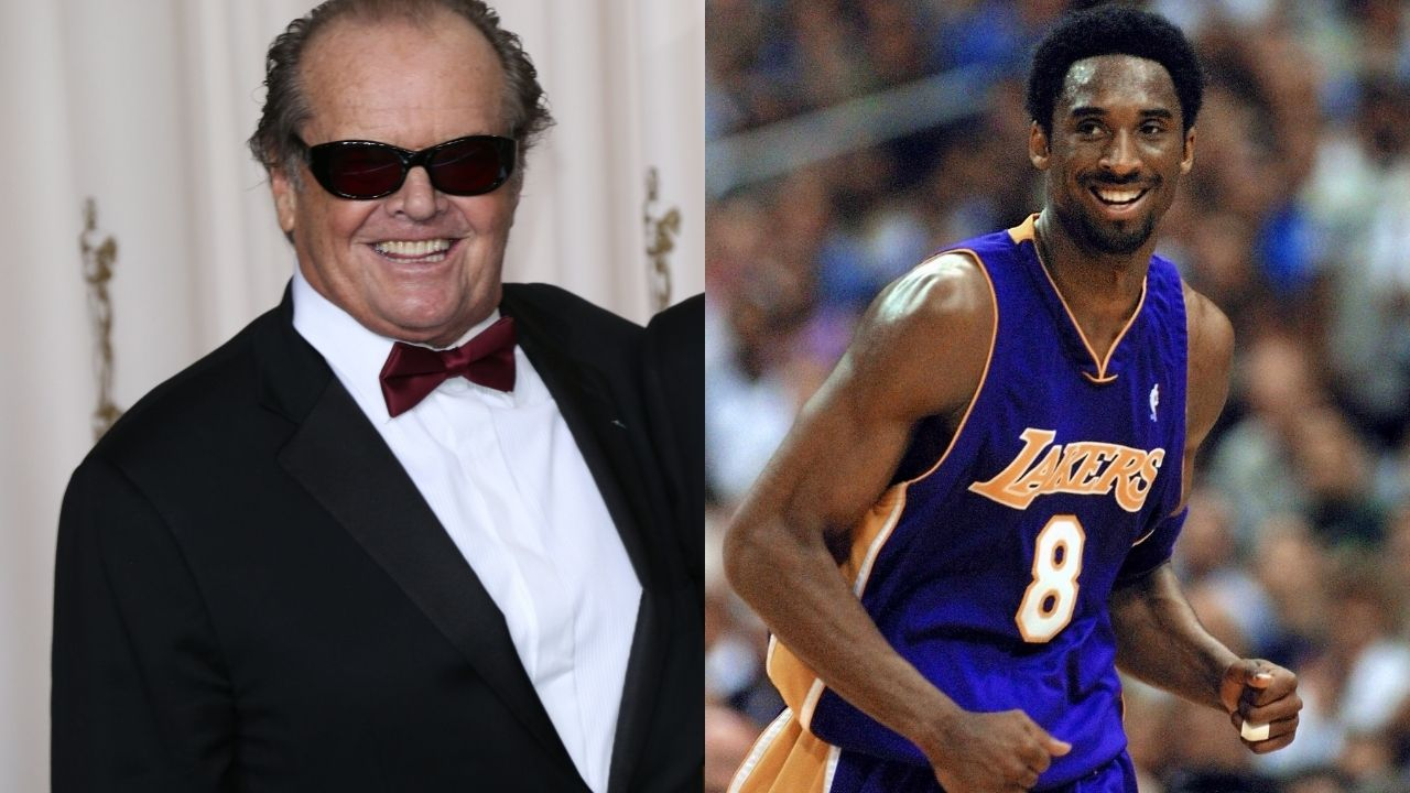 """""""Mr. Kobe Bryant, can I get an autograph please?"""": When Jack Nicholson crashed the Laker legend's first All-Star Game interview in 1998"""