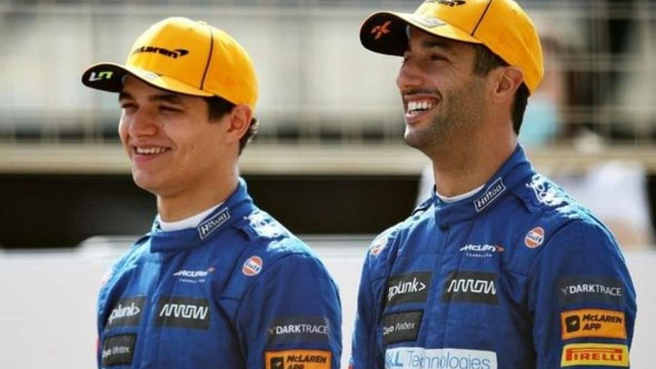 """He has all my data"" - Lando Norris reveals he's helping McLaren teammate Daniel Ricciardo in every way possible"