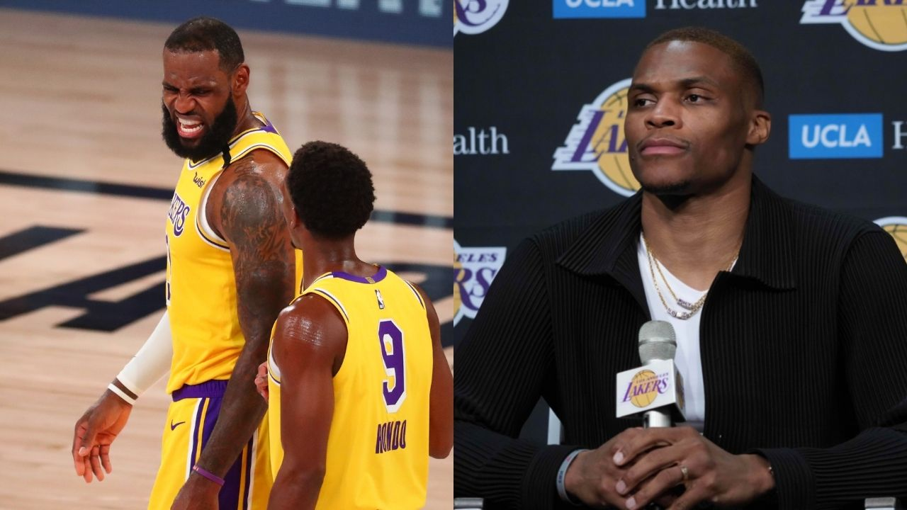 """""""Russell Westbrook and Rajon Rondo couldn't stop trash-talking each other"""": LeBron James' newest Lakers teammates jawed at one another during the 2020 NBA Playoffs"""