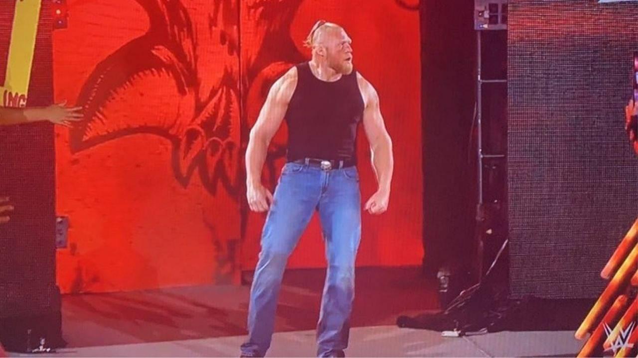 Brock Lesnar makes WWE return following Roman Reigns vs John Cena at SummerSlam 2021
