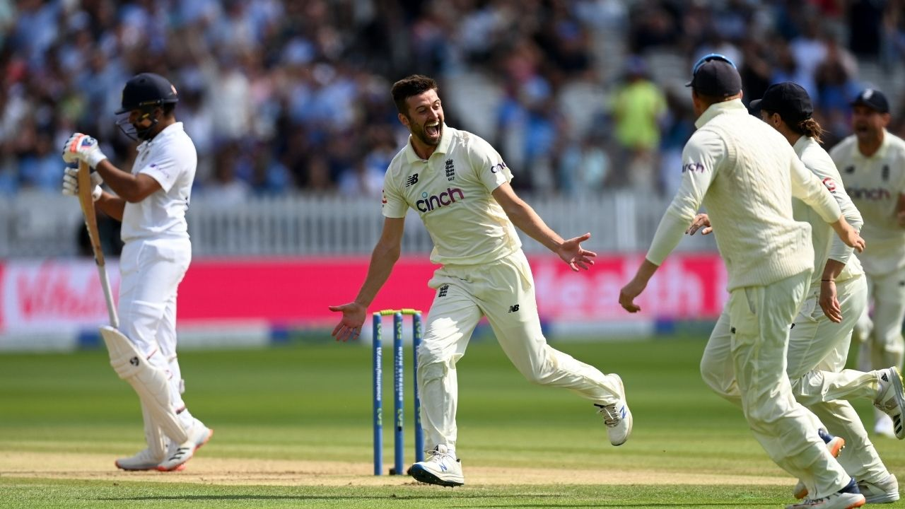 Rohit Sharma dismissal at Lord's: Rohit Sharma falls for short-ball trap against Mark Wood in 2nd innings