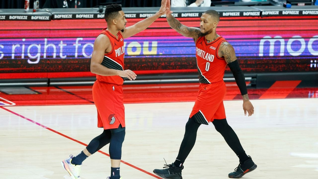 """""""Damian Lillard has one of the quickest releases in NBA"""": Back when CJ McCollum complimented his Portland teammate while discussing Dame's unique shooting techniques"""