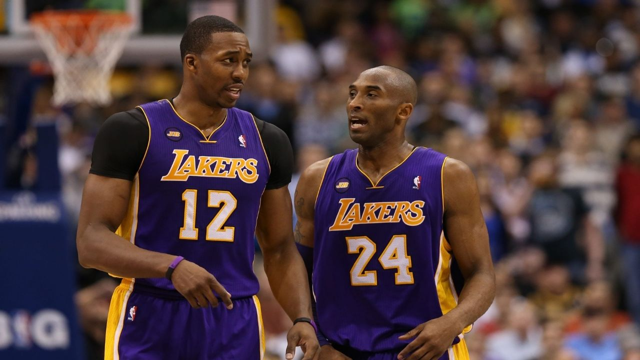 """""""Thank you, Kobe Bryant, for calling me 'soft'"""": Dwight Howard remains appreciative of the Lakers legend for berating him during the 2013 season"""