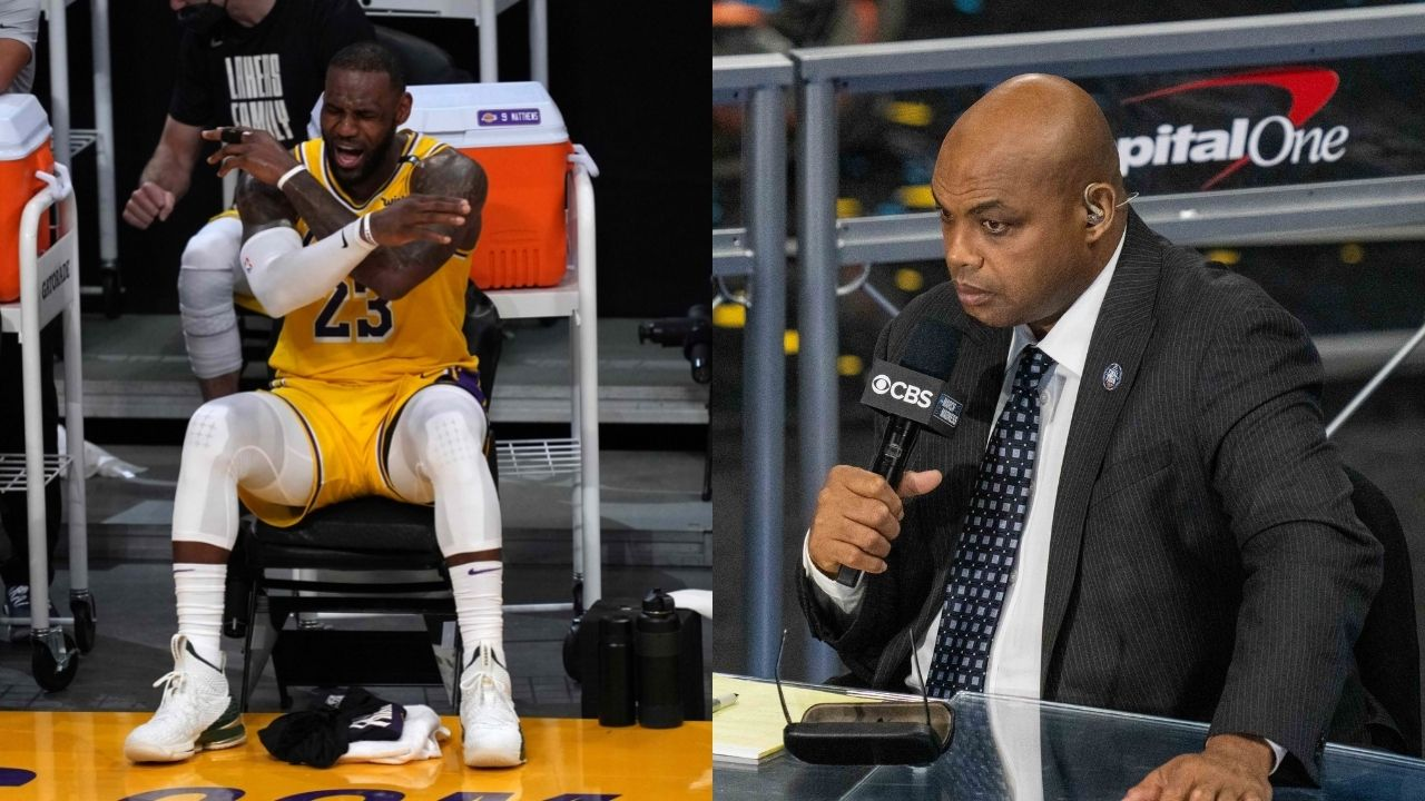 """""""LeBron James, come on NBAonTNT you're not doing anything"""": When Charles Barkley hilariously clowned on the Lakers MVP after getting eliminated from Playoff contention in 2019"""