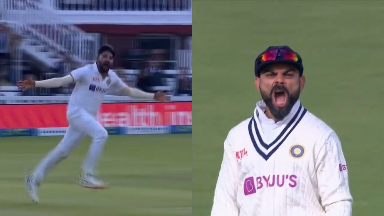 King pair cricket: Mohammed Siraj sends back Moeen Ali and Sam Curran on consecutive balls in Lord's Test