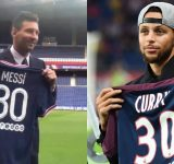 """""""Lionel Messi has some good taste I see!"""": Warriors' Stephen Curry comes up with brilliant tweet to wish soccer legend on his move to PSG"""