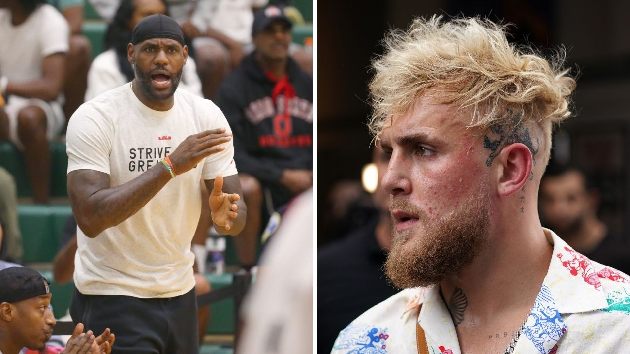 """""""LeBron James, PULL UP BABY!"""": Jake Paul wants Lakers star in his corner during his much anticipated fight against Tyron Woodley in Cleveland"""