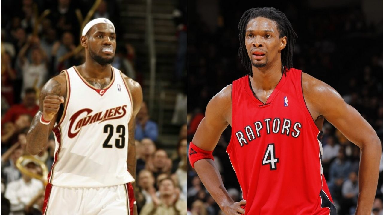 """""""LeBron James destroyed the Raptors because of Chris Bosh's girlfriend!"""": When the Cavs' superstar took it personally and scored 24 points in the 4th Quarter"""