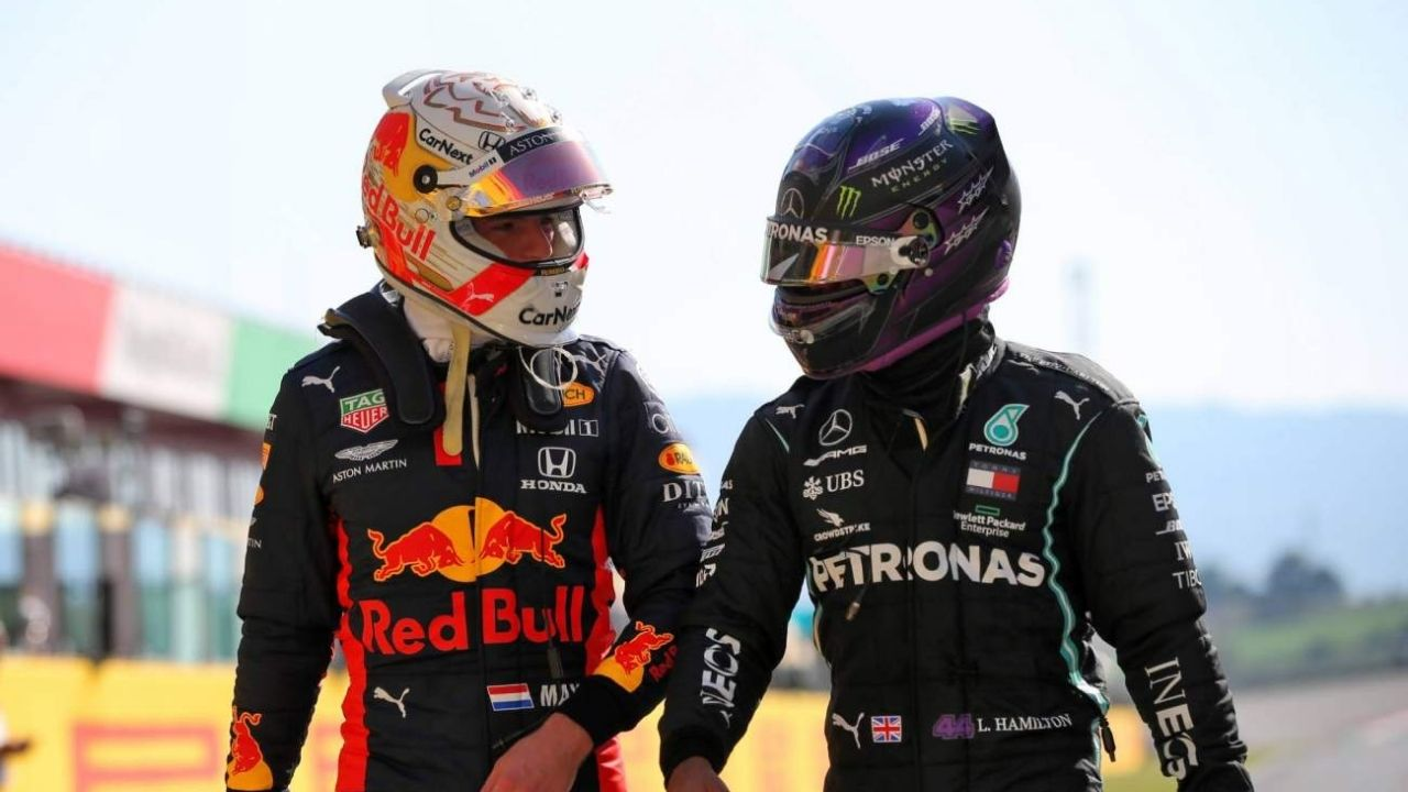 """""""I don't like to compare it to past drivers or past champions""""– Lewis Hamilton discloses his irritation with media comparing his rivalry with Max Verstappen to the past champions"""
