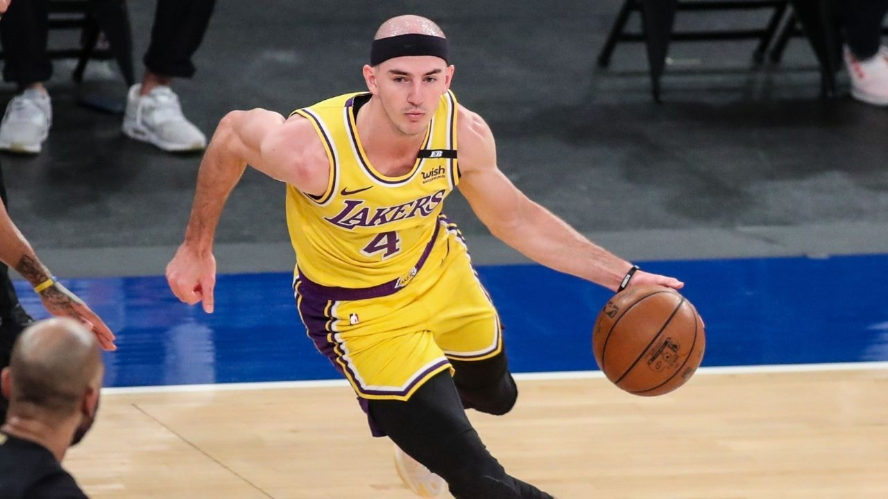 """""""He's a Jersey Shore boy"""": Alex Caruso's girlfriend Mia Amabile confirms the Lakers star's next destination during this upcoming free agency"""
