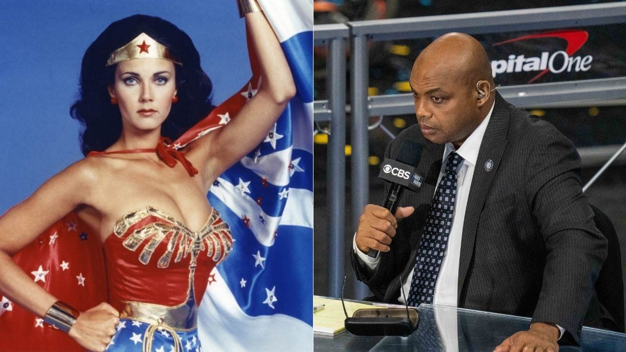 """""""Lynda Carter and I spent time together but she didn't even know it"""": During Game 3 of the 2012 NBA Finals Charles Barkley had an awkward conversation with the """"Wonder Woman"""" actress"""