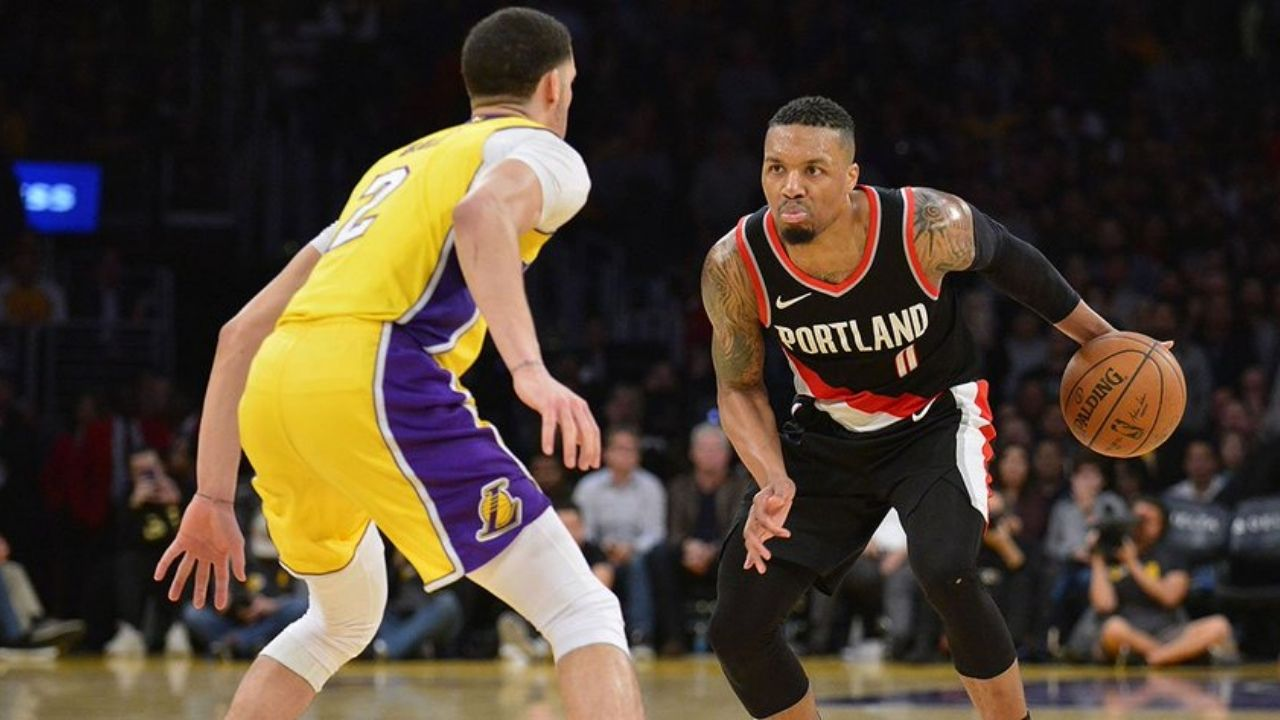 """""""Damian Lillard is a killer"""": Lonzo Ball explains how the Portland superstar is one of the toughest players he has guarded"""