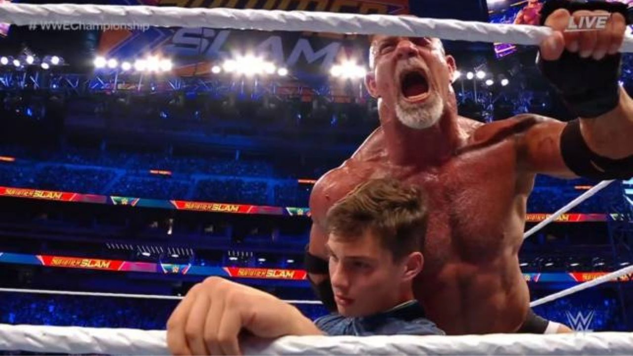 Goldberg reveals he choked his son at SummerSlam for no selling