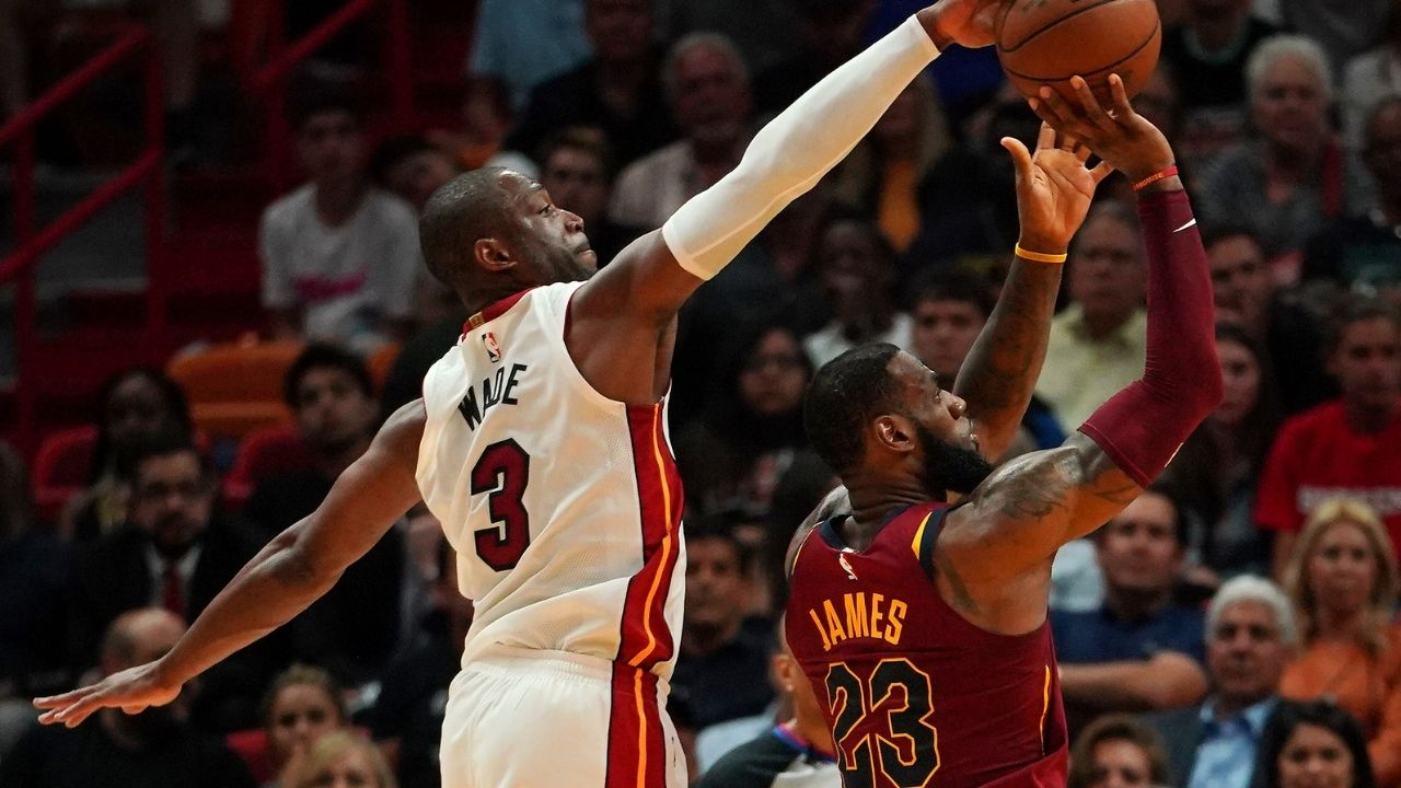 """""""LeBron James is the cheapest basketball player"""": Dwyane Wade reveals how the Lakers superstar wouldn't use his phone internet connection, instead only using WiFi"""