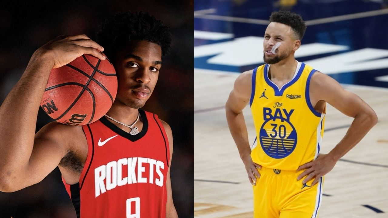 """""""I was 14 and a a die hard LeBron James fan"""": Rockets' rookie Josh Christopher tries to defend his tweets slandering Stephen Curry"""