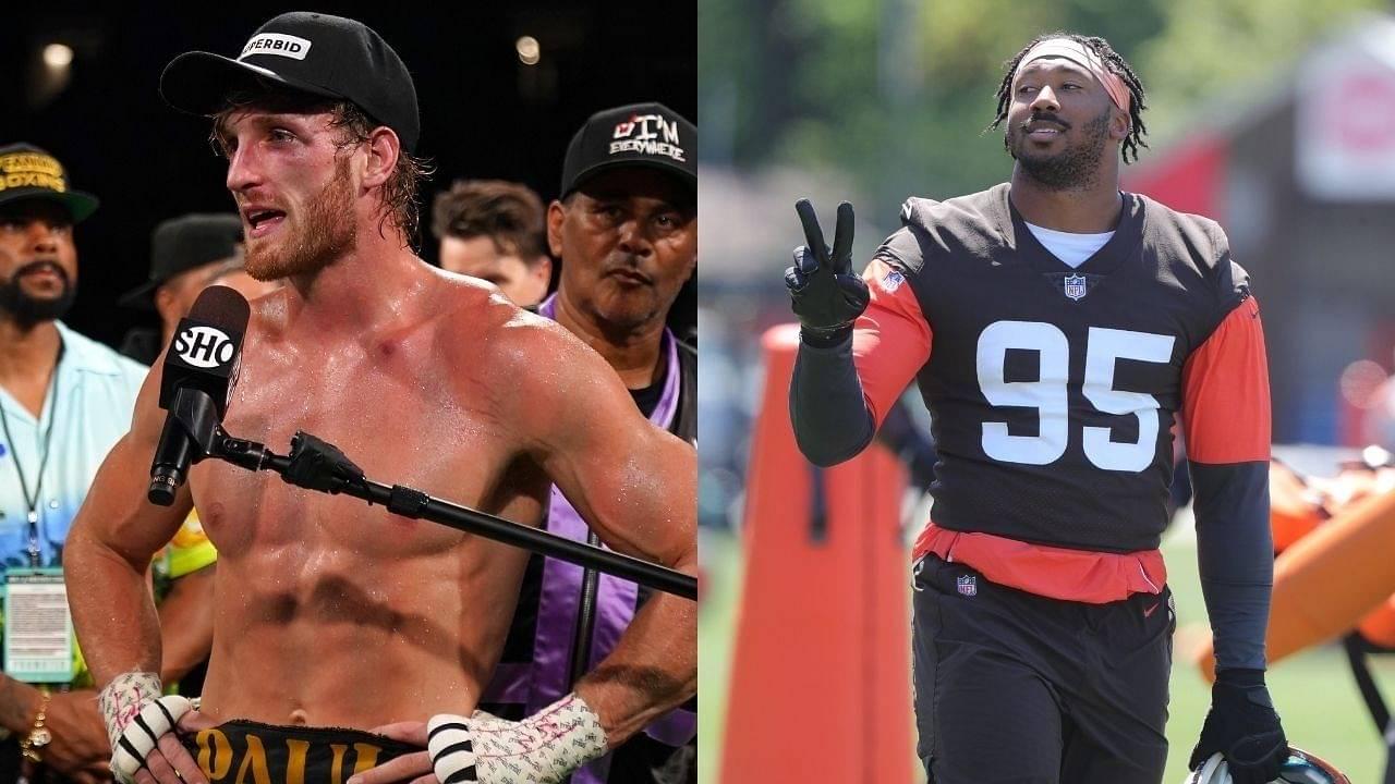 """Logan Paul got hands but Myles Garrett got power"": Nate Robinson believes Browns star DE will destroy YouTube Boxer in a fight"