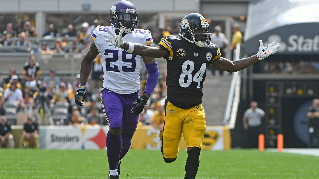 """""""Get Yo A** Outta Here"""": When Antonio Brown Caught Up With Xavier Rhodes After 2017 Week 2 Matchup"""