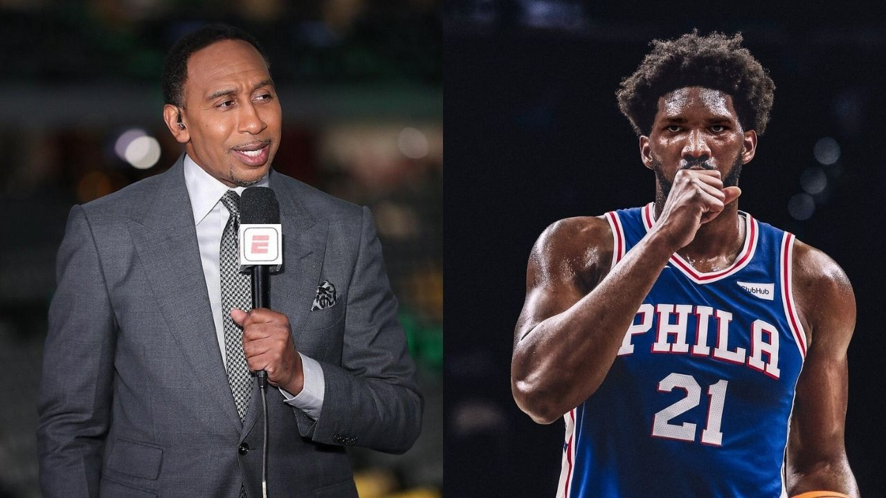 """""""Michael Jordan is not the GOAT, Wilt Chamberlain is"""": When Stephen A Smith commended Joel Embiid for looking out for other big men through NBA History and as the GOAT"""