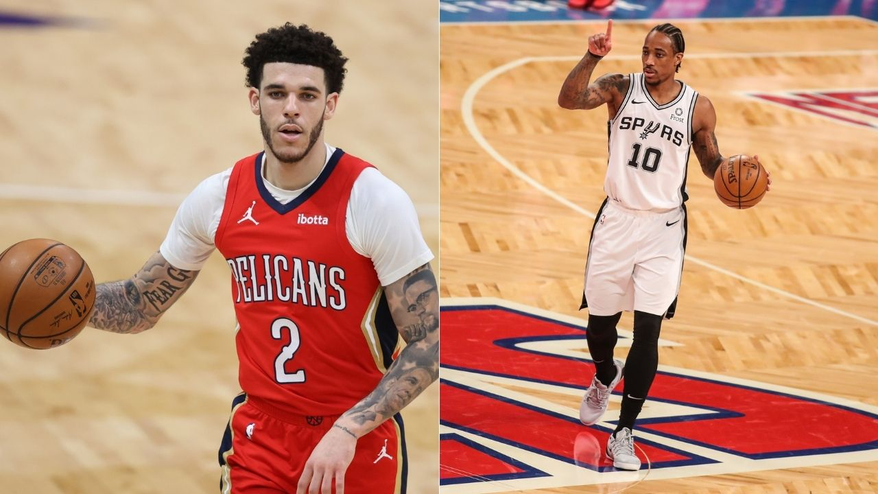 """""""DeMar DeRozan had 40 points on me my rookie season"""": Lonzo Ball reveals how his newest Chicago Bulls teammate gave him his 'Welcome to the NBA """" moment"""