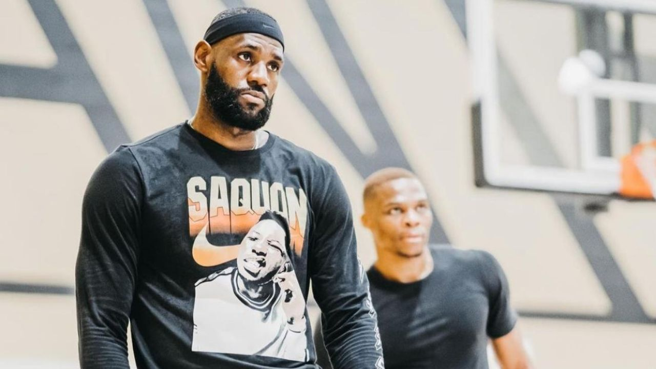 """""""What western team could beat the healthy Lakers?"""": Kendrick Perkins reiterates faith in LeBron James-Russell Westbrook duo for 2021-22 NBA championship"""