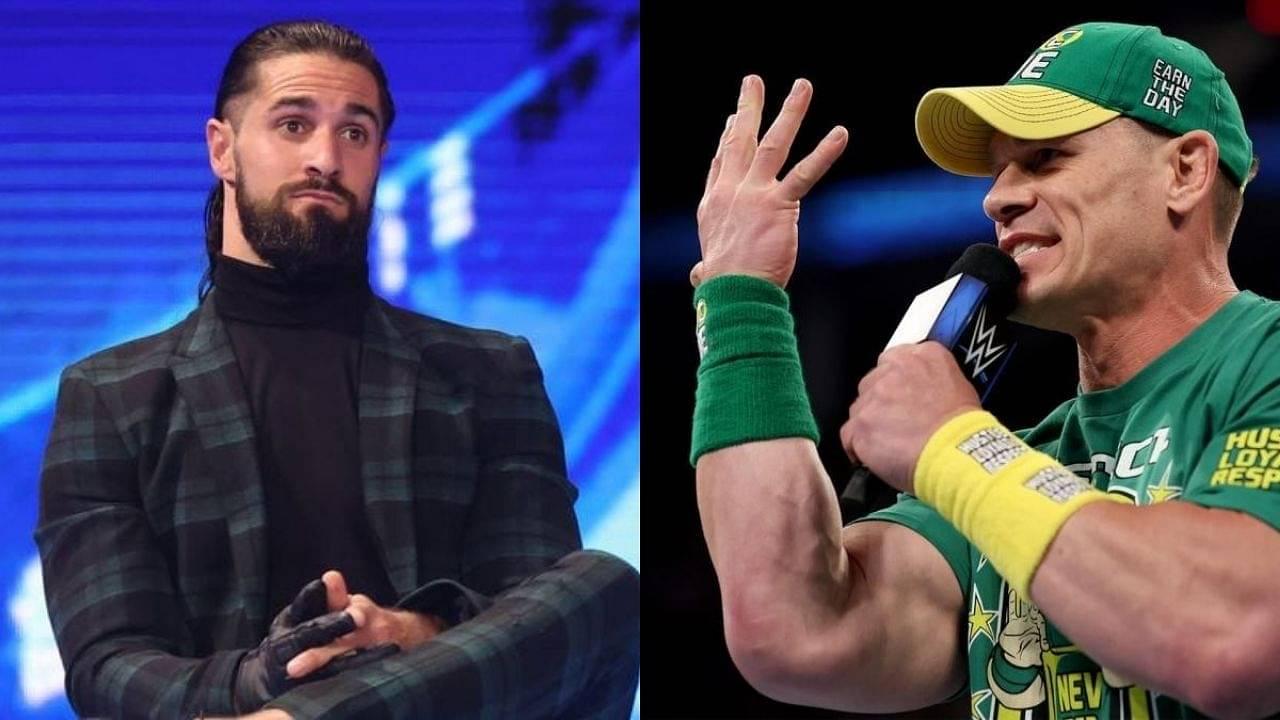 Seth Rollins responds to John Cena name dropping him