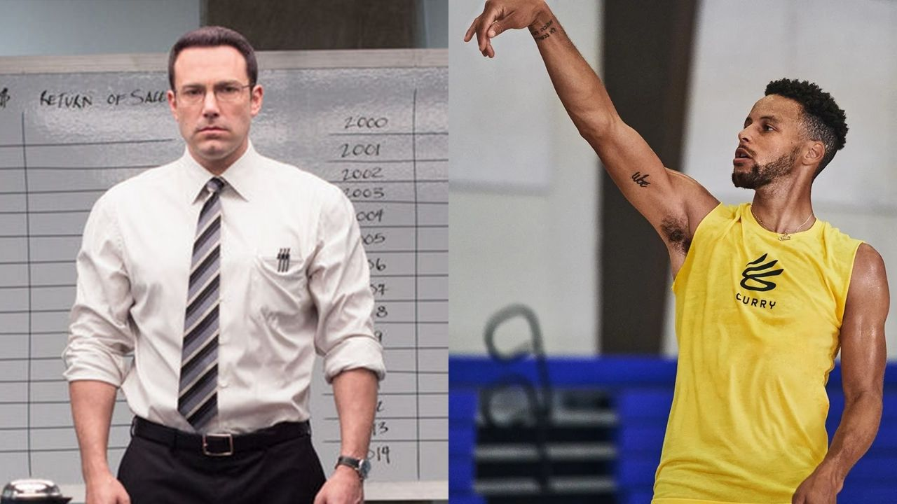 """""""Stephen Curry is like The Accountant"""": Andre Iguodala compares the Warriors' star to Ben Affleck while listing impossible stuff he can do"""