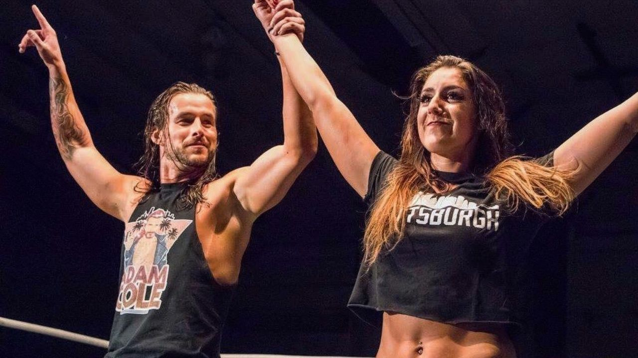 Britt Baker comments on Adam Cole possibly jumping ship to AEW