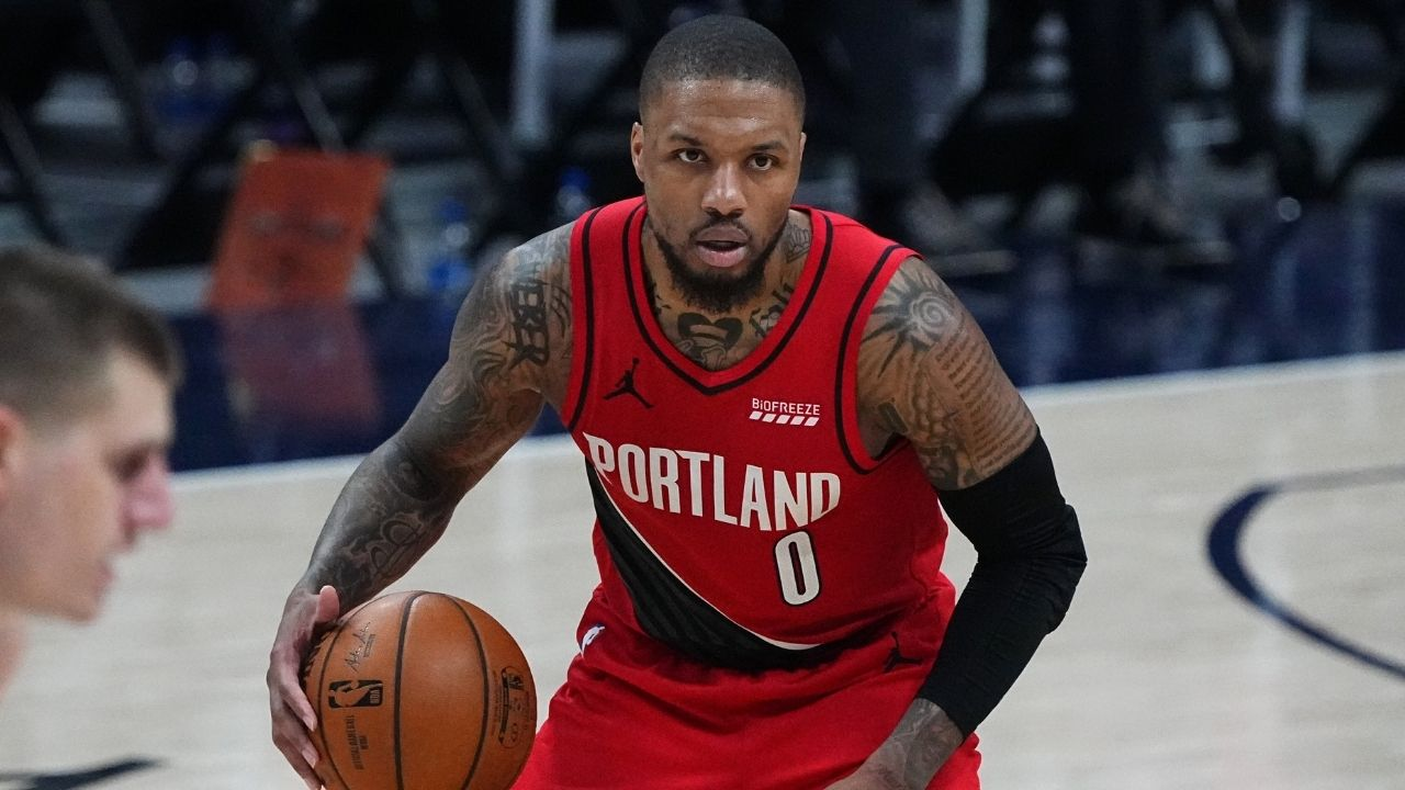 """""""But why did Damian Lillard have to make it Black and Red?!"""": Blazers star's newest collaboration with Shaquille O'Neal could be the biggest indication to where his future lies"""