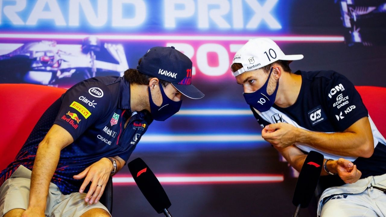 """""""I think Gasly is the right person to be in this seat""""– Ex F1 driver wants Pierre Gasly to replace Sergio Perez at Red Bull"""