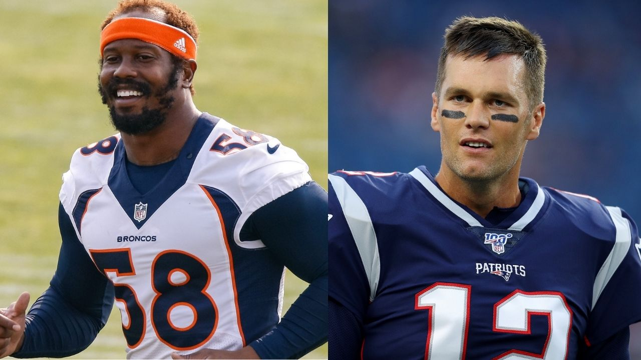 """""""Tom Brady is the toughest quarterback I've ever faced"""" Von Miller opens up about the GOAT and his madden like pre snap vision"""