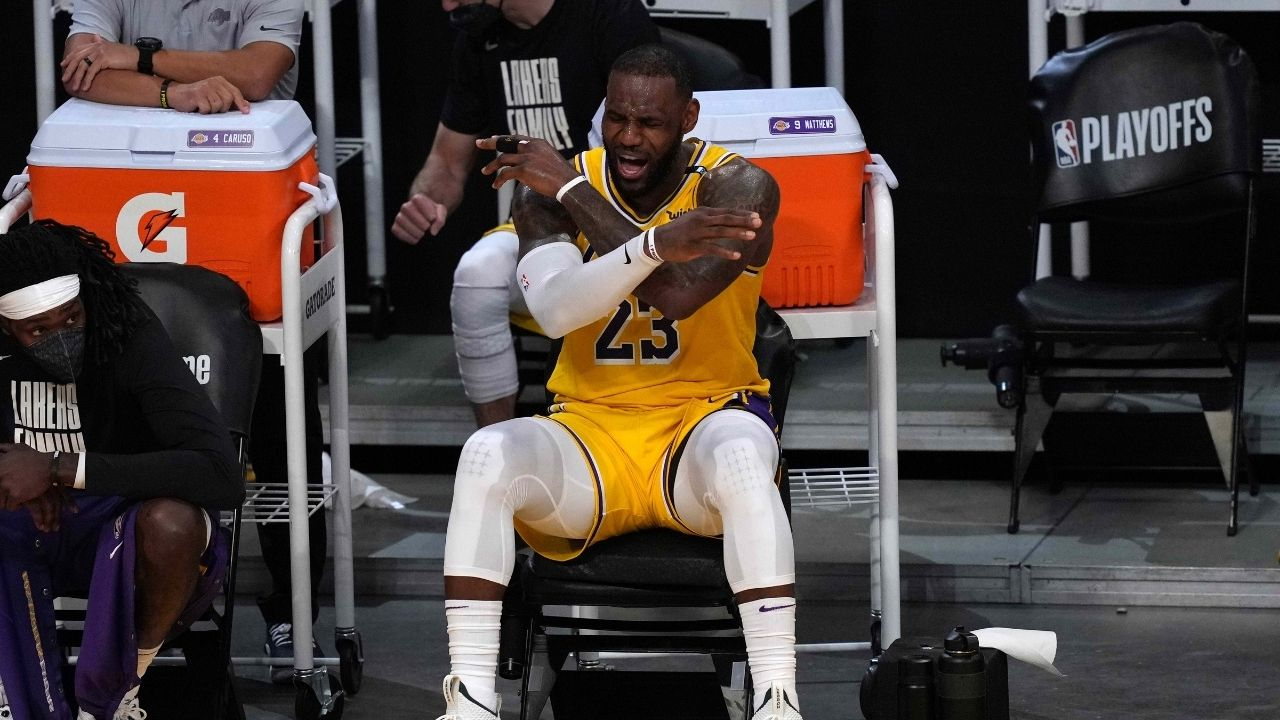 """""""LeBron James should just sign DeAndre Jordan already!"""": Eastern Conference Executive mocks the Lakers by calling them the NBA's retirement home"""