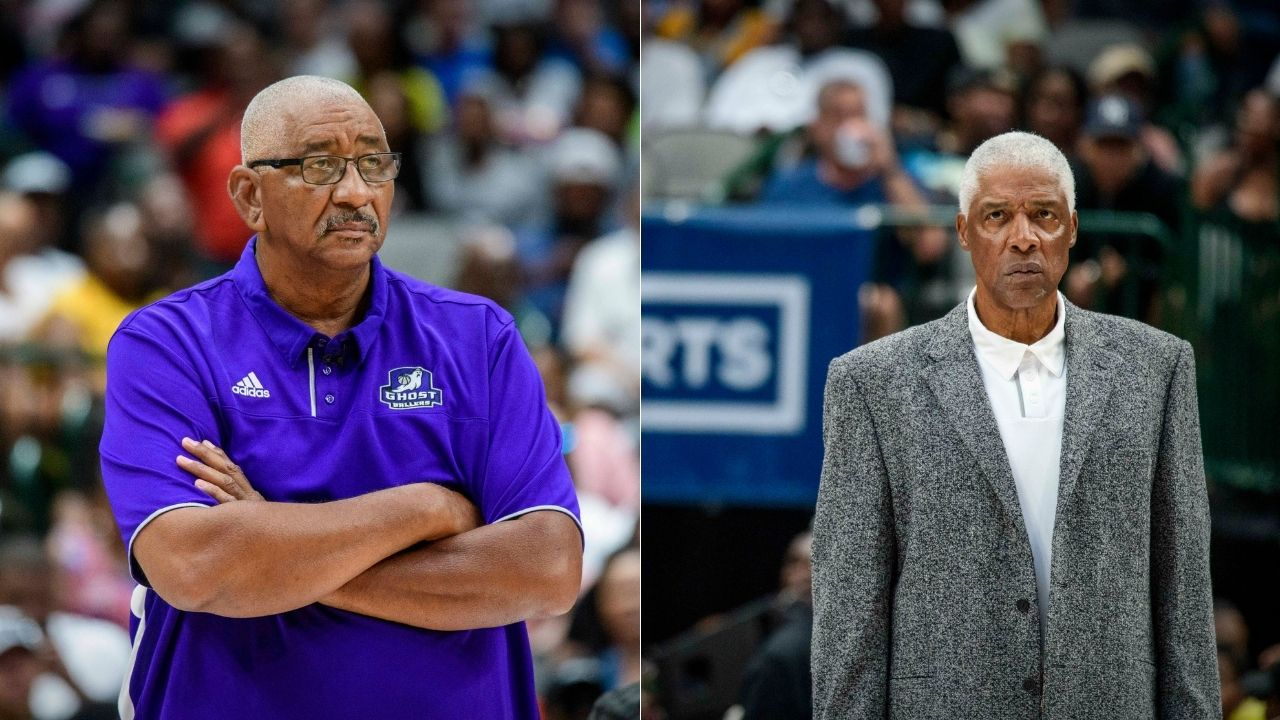 """""""In the NBA, I ain't had that problem!"""": George Gervin hilariously explains how playing with Julius Erving on the Virginia Squires helped him become an NBA legend"""