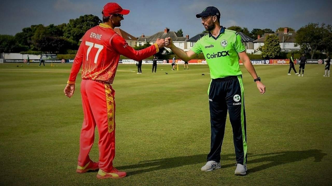 Ireland vs Zimbabwe 1st ODI Live Telecast Channel in India and Ireland: When and where to watch IRE vs ZIM Belfast ODI?