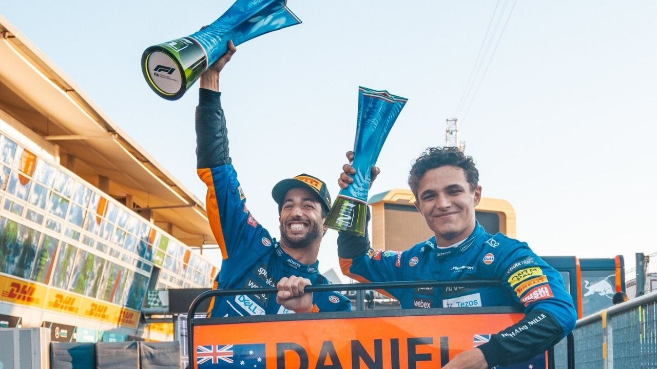 """""""I was just as happy to stay in second""""– Lando Norris wished to overtake Daniel Ricciardo but was happy to serve him by remaining in P2"""