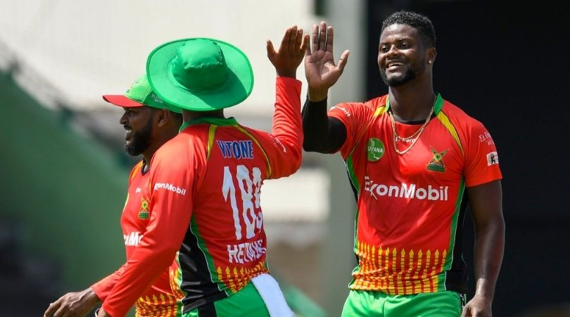 GUY vs BR Fantasy Prediction: Guyana Amazon Warriors vs Barbados Royals – 5 September 2021 (St Kitts). Mohammad Hafeez, Imran Tahir, Romario Shepherd, and Glenn Phillips will be the players to look out for in the Fantasy teams.