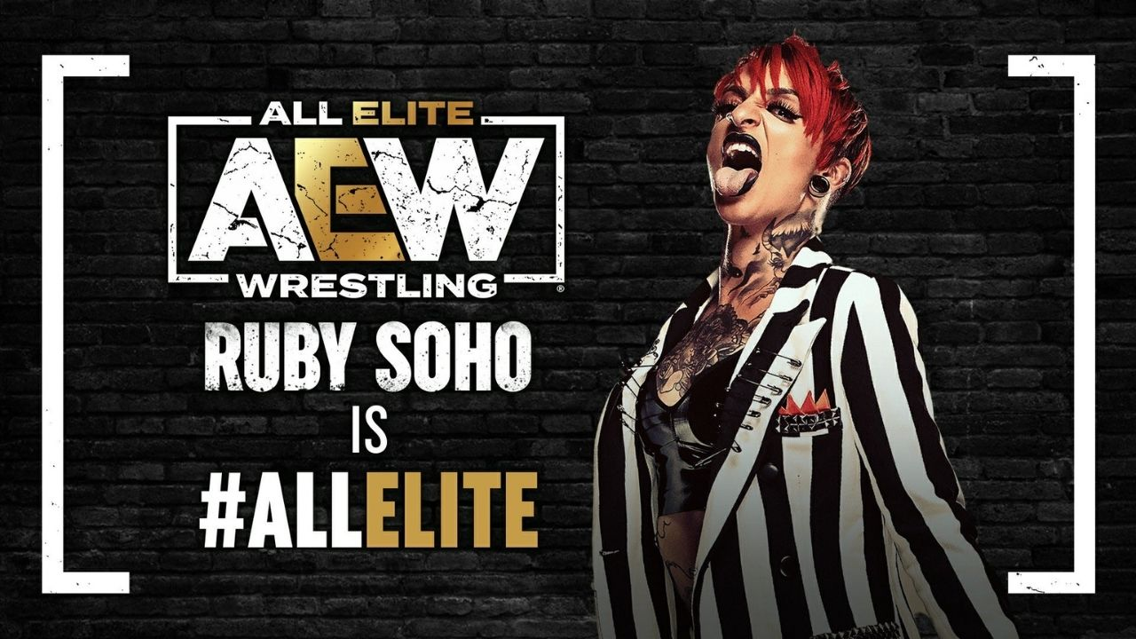 Liv Morgan reacts to Ruby Soho winning Women's Casino Battle Royale on AEW debut
