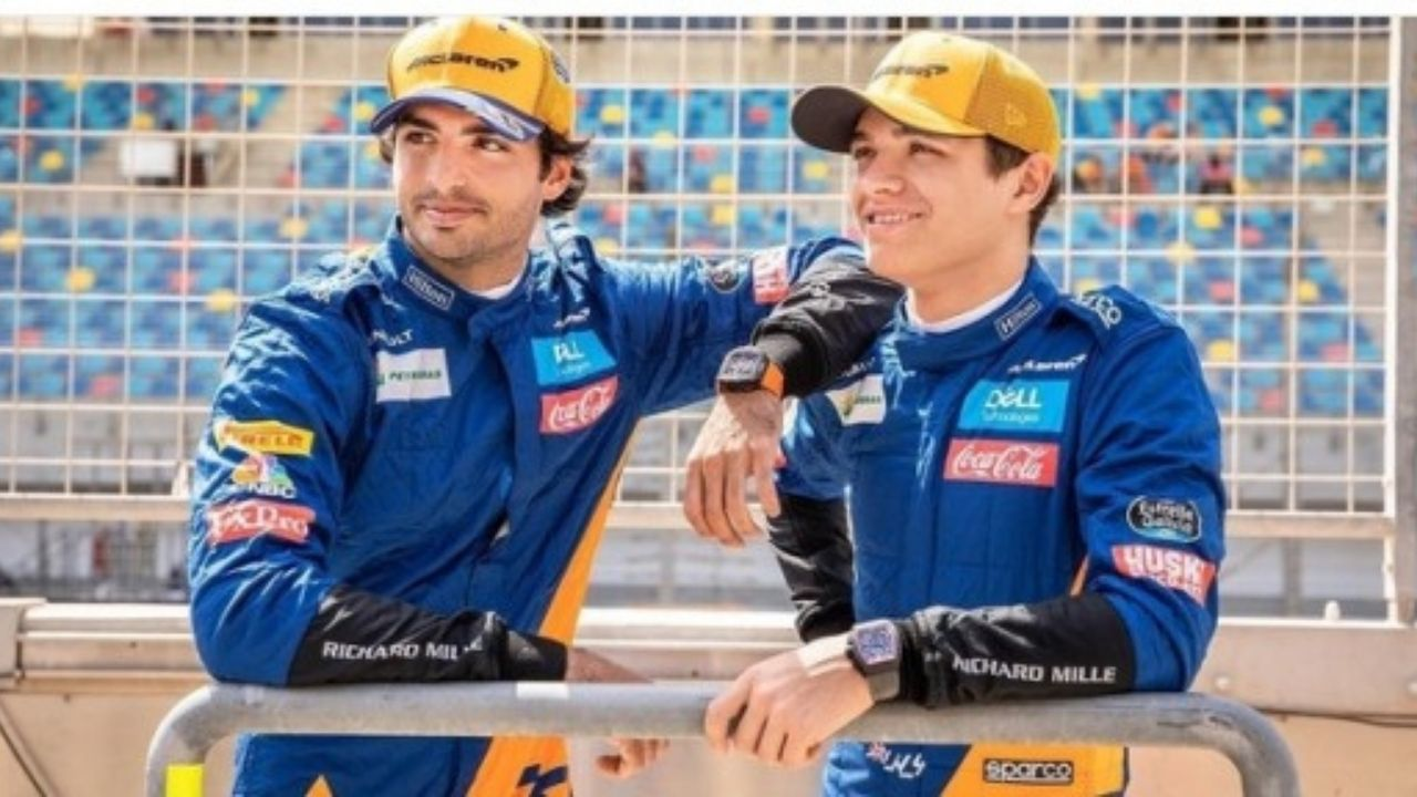 """""""Why not pass him into Turn 2? - Carlos Sainz eager to get past pole winner Lando Norris tomorrow at Sochi"""