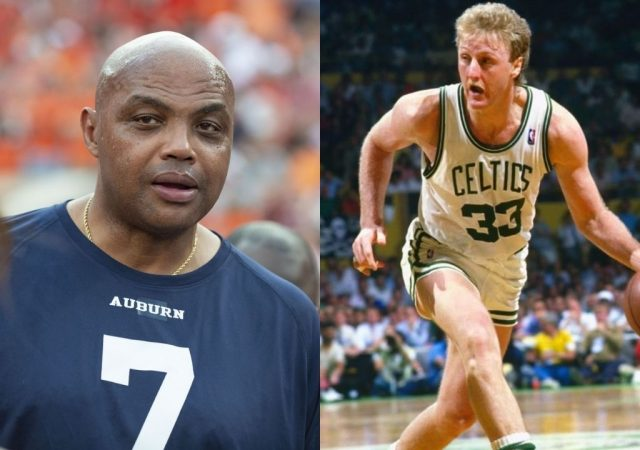 """""""No place for slow Larry Bird in the NFL"""": Charles Barkley hilariously roasts' Celtics Legend on Peyton and Eli Manning's 'Manningcast'"""