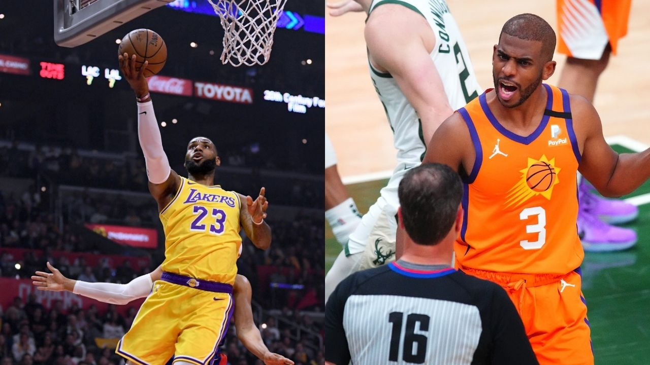 """""""LeBron James and Chris Paul will go to great lengths to keep teammates happy"""": James Jones explains the eerie similarities between the Lakers and the Suns superstars"""