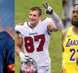 """""""Rob Gronkowski is like Lebron James in that his body type and skill set"""": Von Miller reveals the best TE he ever faced embodies NBA GOAT's traits"""