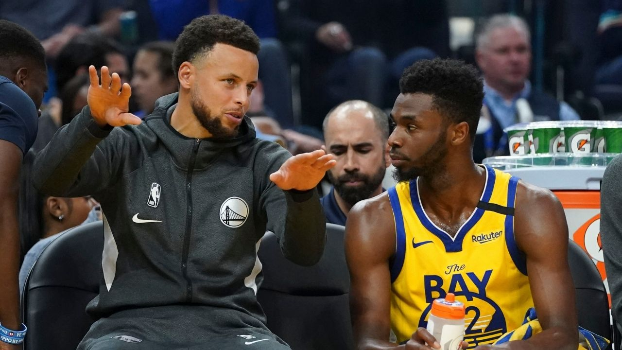 """""""Hope Andrew Wiggins has the right information"""": Stephen Curry speaks out on the Warriors star's stance on not getting vaccinated against COVID-19"""