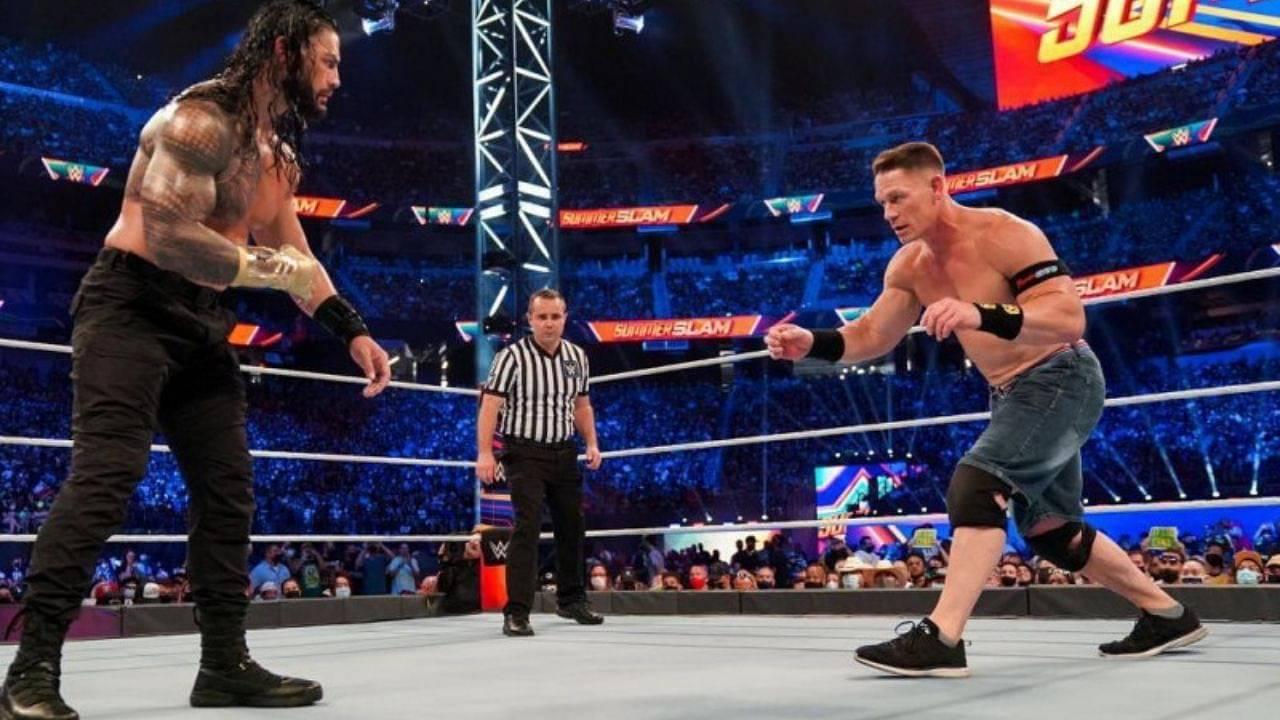 John Cena talks WWE return and SummerSlam loss to Roman Reigns