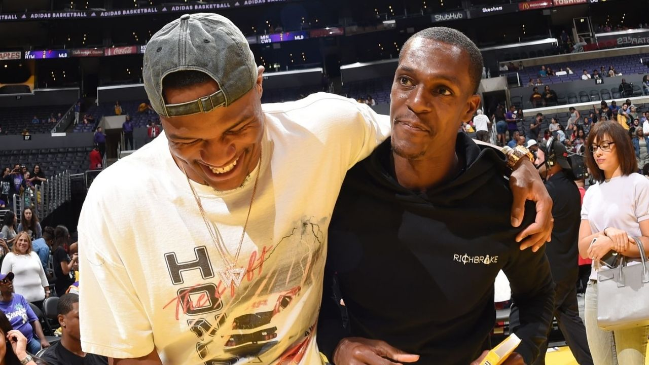 """""""Russell Westbrook wants to destroy me, as much as I want to destroy him"""": Rajon Rondo opens up about the competitive nature between him and his new Lakers teammate"""