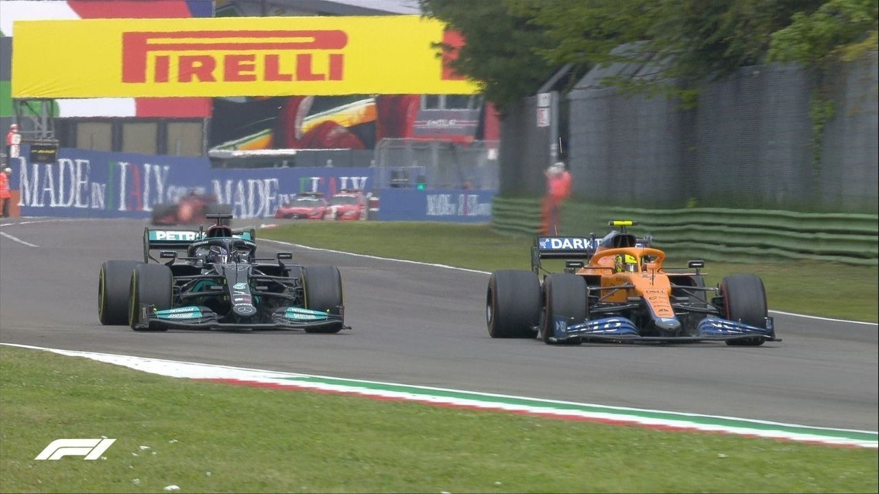 """""""Even if it meant that we might leave the door open for Lando to take the win""""– Mercedes was ready to sacrifice win to prevent Max Verstappen's advances"""