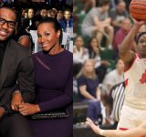 """""""Savannah James nearly lost it over Bronny James' potential 'dunk of the year': When Bronny was inches away from having the 'poster of the season' with Jalen Green in attendance"""